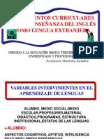 Laminas Lineamientos de Ingles