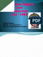 Consumer Rights and Protection-Ashish Kumar