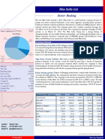 Max India Ltd.(Brief Report)