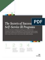 Secrets of Successful Self Service BI_final