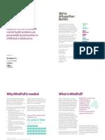 mindfull brochure double spread