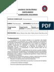 Proyecto Ciencias Naturales Politécnica 1ero