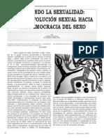 Pensando la sexualidad. Guillermo Cano