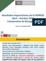 Exposicion Resultados Isipress Bioseguridad-iih