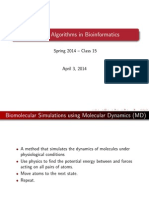 PHARMACEUTICAL BIOINFORMATICS ALGORITHM