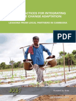 Good Practices for Integrating Climate Change Adaptation - Lessons From Local Partners in Cambodia