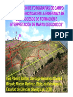 Interpretacion de Mapa Geológico