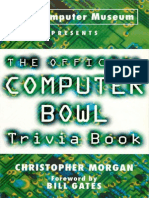Official Computer Bowl Trivia Book 1996
