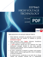 EEPB463 High Voltage Technology Chapter 5