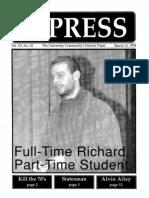 The Stony Brook Press - Volume 15, Issue 11