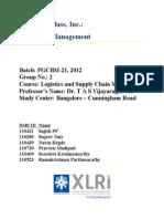 LSCM Group 2 Scientific Glass Case Analysis