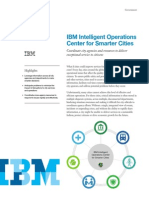 IBM Intelligent Ops Center Solution Brief