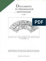 Article-ceramiques Montanaises(1996)