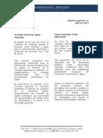 Boletín Legal No. 16 Julio de 2014
