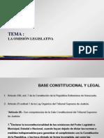 Tema - La Omision Legislativa (Definitivo)