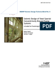 Seismic Design of Steel Special  Concentrically Braced Frame Systems