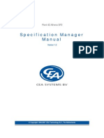 Manual Plant 4D Athena SP2 - Specification Manager-master