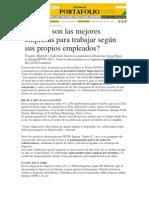 El Comercio Mejores Empresas Peruanas