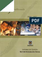 2004 2008 BogotaSinIndiferencia c InformeFinal i SectorIntegracionSocial