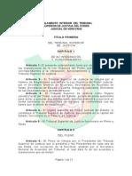 Reglamento de La Ley Organica Del Poder Judicial Del Estado