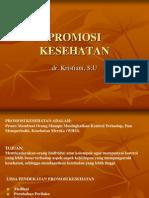 Promosi Kesehatan-dr. Kristiani