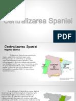 Centralizarea Spaniei