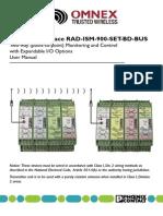 Rad Ism 900 Set Bd Bus 2867089 Manual
