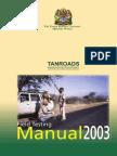 Tanzania Roads Agency_ Field Testing Manual