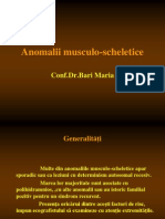 Anomalii musculo-scheletice
