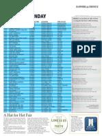 Winchester Hat Fair 2014 Programme