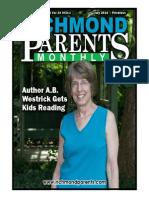 Richmond Parents Monthly - July 2014