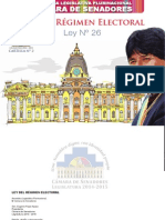 Cartilla Nº 2 Ley Del Régimen Electoral