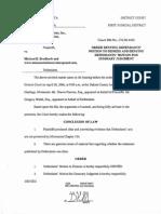Order Denying NSC MDE Brodkorb
