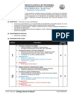 Syllabus Electronica Digital 2014