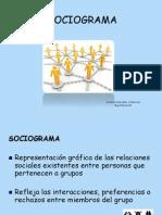 EXPLICACION SOCIOGRAMA