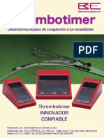 Catalogo Thrombotimers