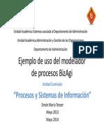 3 Ejemplo de Uso Del Modelador de Procesos
