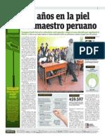 140704 EnseñaPerú. PUBLIMETRO Dos Años en La Piel Del Maestro Peruano