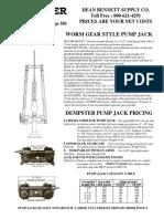 AERMOTOR Windmill Catalog Page58b