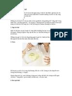 10 bí kíp giải độc cơ thể