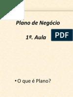1a. Aula Plano de Negócio
