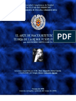 El Arte de Hacer Sentencias o Teoría de la Resolución Judicial - España Costa Rica (Alejandro NIETO GARCIA - Sergio Alonso VALVERDE ALPIZAR)