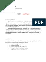 METODOLOGIA DO PROJETO  - parte 1