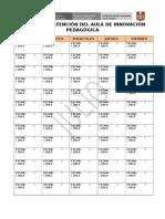 Horario de Separacion Del AIP
