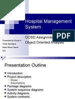 hospital management ppt
