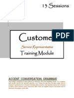 Call Center Training Module