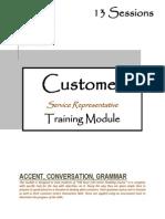 Call Center Training Module
