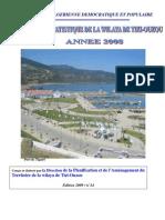 ANNUAIRE  2009 de  Tizi-ouzou DONNEES STATISTIQUES DE LA WILAYA DE TIZI-OUZOU