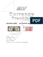 Currency tracking