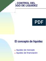 El Control de Riesgo de Liquidez. Upload